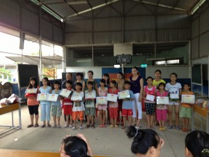 Distribution of awards to orphans with exemplary school achievements 2