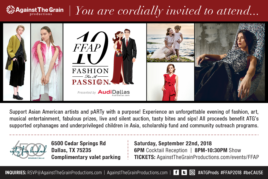 10th Fashion for a Passion @ sixty five hundred | Dallas | Texas | United States